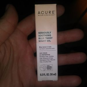 Acure seriously soothing night oil
